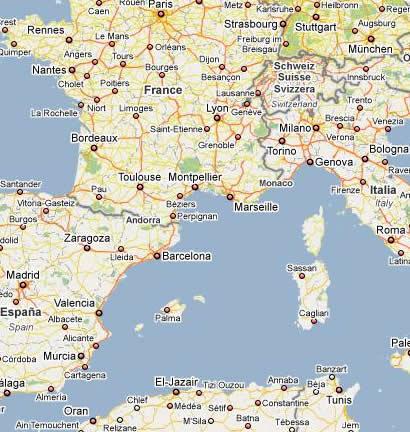 Mapas de Italia Autopistas autovias aeropuertos regiones y